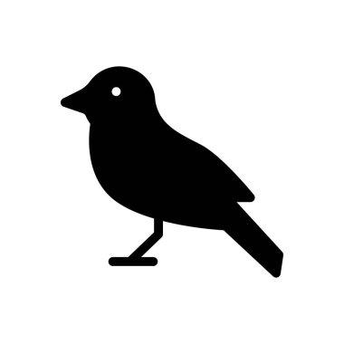 Sparrow icon for website design and desktop envelopment, development. premium pack. icon