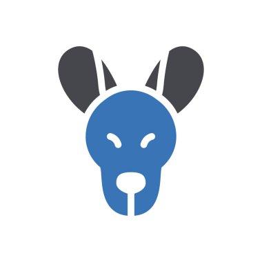 Kangaroo icon for website design and desktop envelopment, development. premium pack. icon