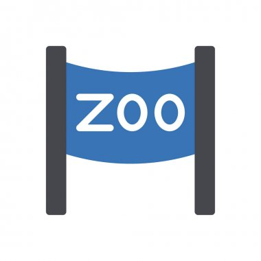 Zoo icon for website design and desktop envelopment, development. premium pack. icon
