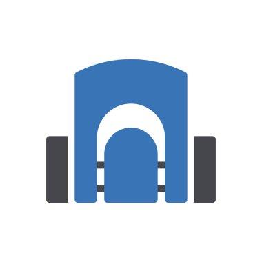 Zoo icon for website design and desktop envelopment, development. premium pack. icon