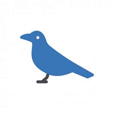 Dove icon for website design and desktop envelopment, development. premium pack. icon