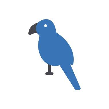 Parrot  icon for website design and desktop envelopment, development. premium pack. icon