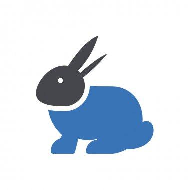 Rabbit icon for website design and desktop envelopment, development. premium pack. icon