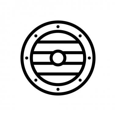 Viking icon for website design and desktop envelopment, development. premium pack. icon