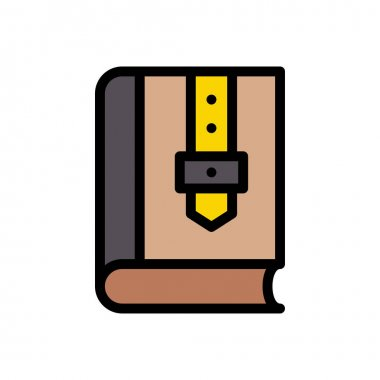 Book  icon for website design and desktop envelopment, development. premium pack. icon