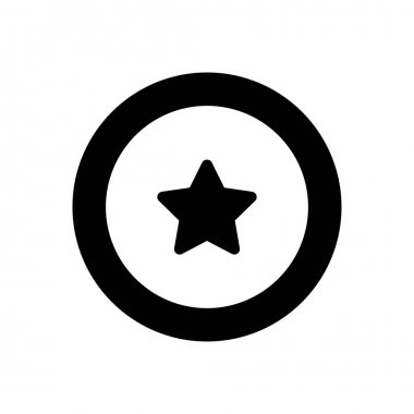 Star  icon for website design and desktop envelopment, development. premium pack. icon