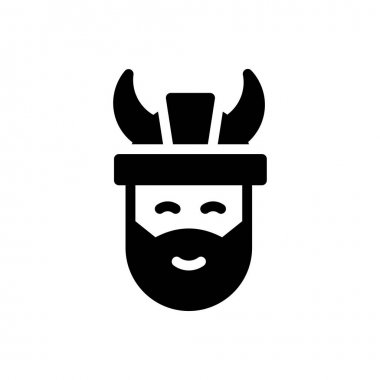 Viking icon for website design and desktop envelopment, development. premium pack. icon