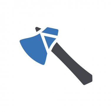 Axe icon for website design and desktop envelopment, development. premium pack. icon