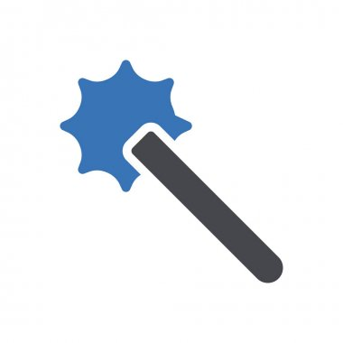 Mace  icon for website design and desktop envelopment, development. premium pack. icon