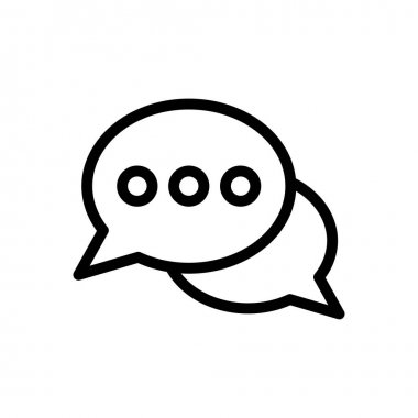 Chat  icon for website design and desktop envelopment, development. premium pack. icon