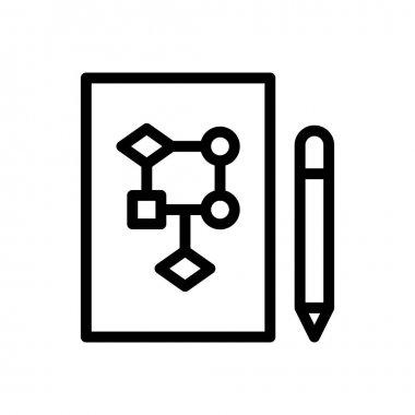 Vector  icon for website design and desktop envelopment, development. premium pack. icon