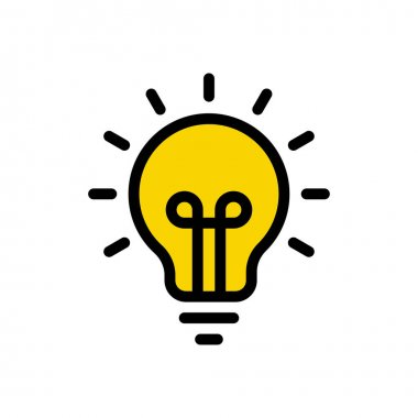 Bulb   icon for website design and desktop envelopment, development. premium pack. icon