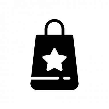 Bag  icon for website design and desktop envelopment, development. premium pack. icon