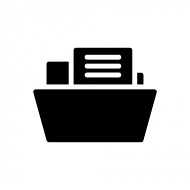Archive  icon for website design and desktop envelopment, development. premium pack. icon