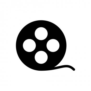 Reel  icon for website design and desktop envelopment, development. premium pack. icon