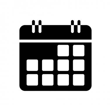 Month  icon for website design and desktop envelopment, development. premium pack. icon