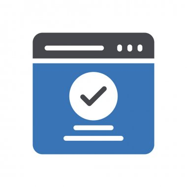 Webpage  icon for website design and desktop envelopment, development. premium pack. icon