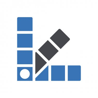 Colors  icon for website design and desktop envelopment, development. premium pack. icon