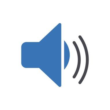 Sound  icon for website design and desktop envelopment, development. premium pack. icon
