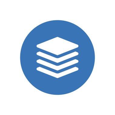 Square  icon for website design and desktop envelopment, development. premium pack. icon