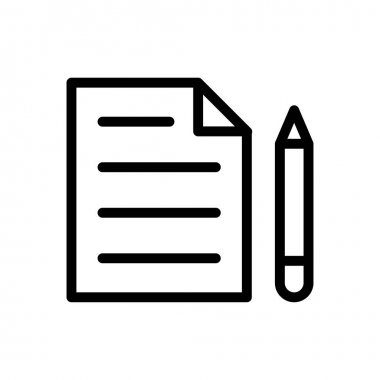Notes  icon for website design and desktop envelopment, development. premium pack. icon