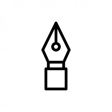 Pen  icon for website design and desktop envelopment, development. premium pack. icon