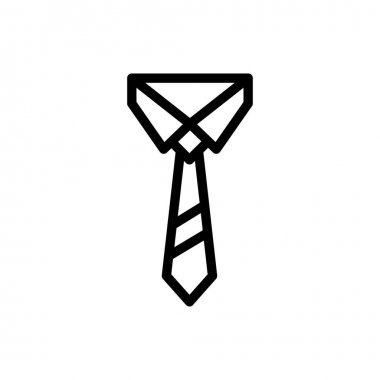 Tie  icon for website design and desktop envelopment, development. premium pack. icon