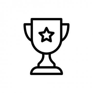 Cup  icon for website design and desktop envelopment, development. premium pack. icon