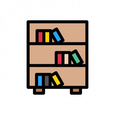 Books  icon for website design and desktop envelopment, development. premium pack. icon