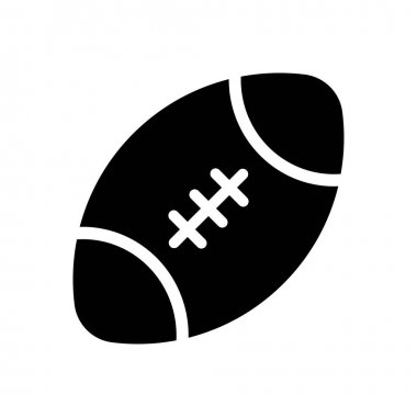 Rugby  icon for website design and desktop envelopment, development. premium pack. icon