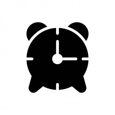 Alarm  icon for website design and desktop envelopment, development. premium pack. icon