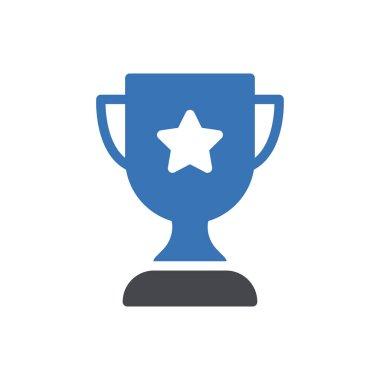 Trophy  icon for website design and desktop envelopment, development. premium pack. icon