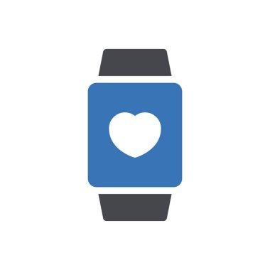 Watch  icon for website design and desktop envelopment, development. premium pack. icon