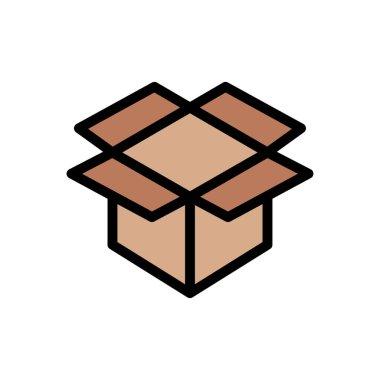 Box icon for website design and desktop envelopment, development. premium pack. icon