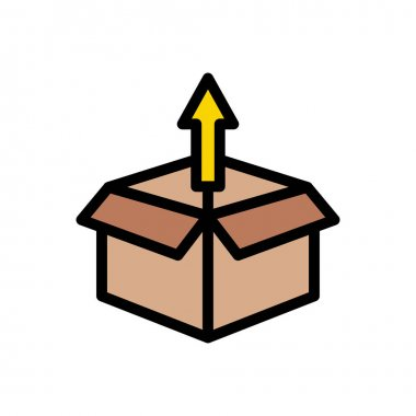 Box icon for website design and desktop envelopment, development. premium pack. icon