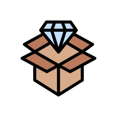 Delivery icon for website design and desktop envelopment, development. premium pack. icon