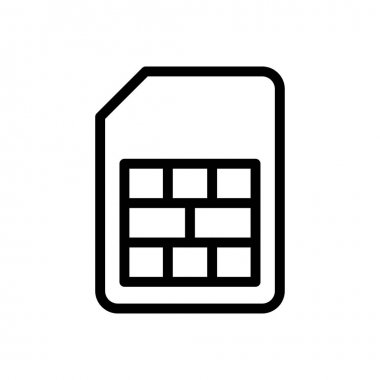 Card icon for website design and desktop envelopment, development. premium pack. icon