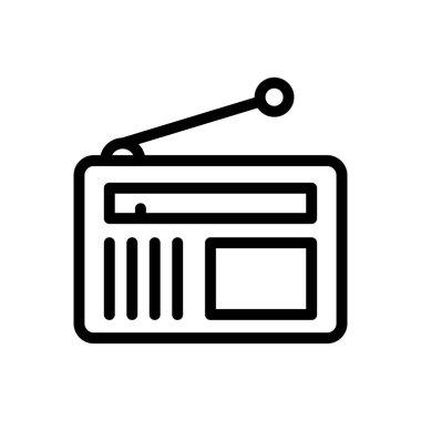 Radio icon for website design and desktop envelopment, development. premium pack. icon
