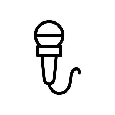 Mic icon for website design and desktop envelopment, development. premium pack. icon