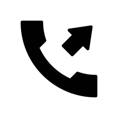 Dialing icon for website design and desktop envelopment, development. premium pack. icon