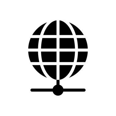 Global icon for website design and desktop envelopment, development. premium pack. icon