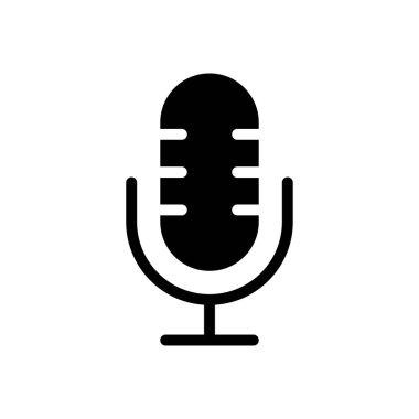 Mike  icon for website design and desktop envelopment, development. premium pack. icon