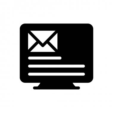 Inbox icon for website design and desktop envelopment, development. premium pack. icon
