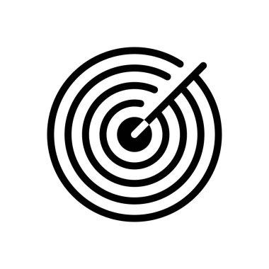 Radar icon for website design and desktop envelopment, development. premium pack. icon