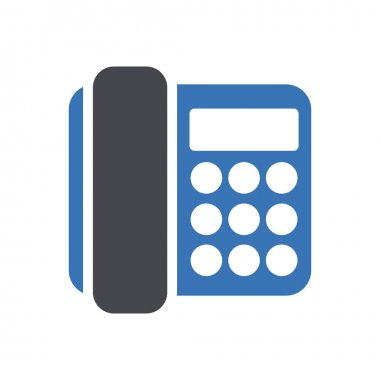 Telephone icon for website design and desktop envelopment, development. premium pack. icon