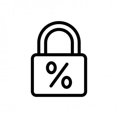 Lock icon for website design and desktop envelopment, development. premium pack. icon