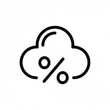 Cloud  icon for website design and desktop envelopment, development. premium pack. icon