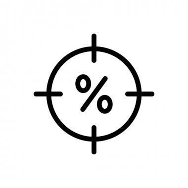 Target icon for website design and desktop envelopment, development. premium pack. icon