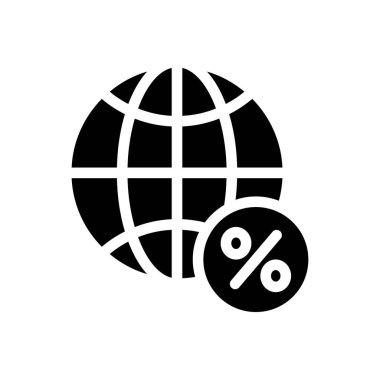 Word global  icon for website design and desktop envelopment, development. premium pack. icon
