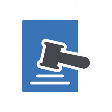 Auction icon for website design and desktop envelopment, development. premium pack. icon